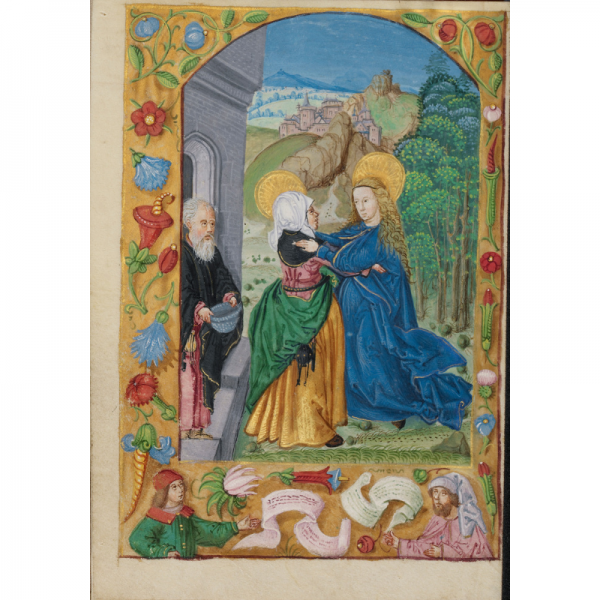 The Visitation, early 16th centur