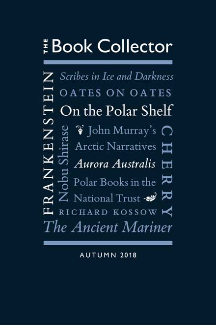 The Book Collector Autumn 2018 Cover