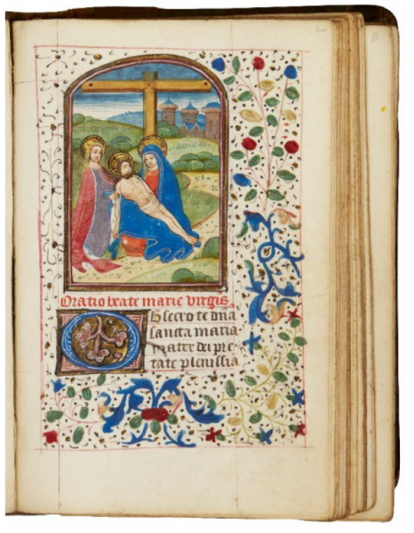 Book of Hours, Use of Rome, in Latin [southern Netherlands (Bruges), c.1460-70