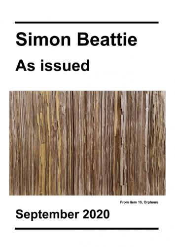 Simon Beattie - As Issued