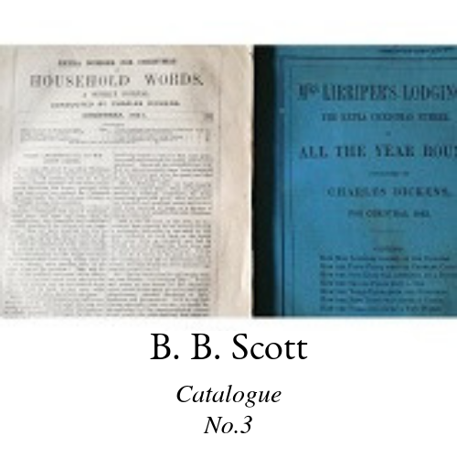 B. B. Scott Catalogue 3