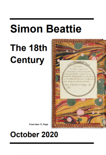 Simon Beattie - 18th Century