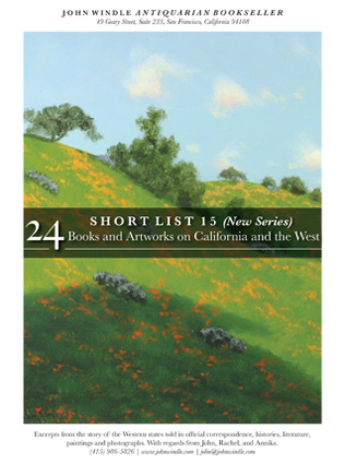 Short List 15: 24 Books and Artworks on California and the West