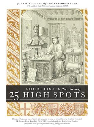 Shortlist 16 - 25 High Spots John Windle