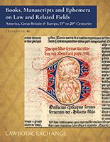 Catalogue 95 - Lawbook Exchange