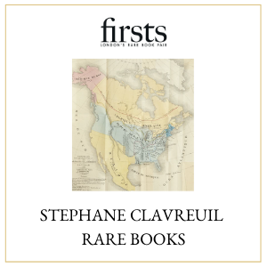 Stephane Clavreuil Rare Books, Firsts 2020 highlights