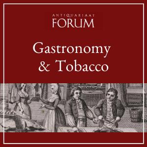 Forum Rare Books - Gastronomy & Tobacco