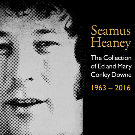 Seamus Heaney | The Collection of Ed & Mary Conley Downe