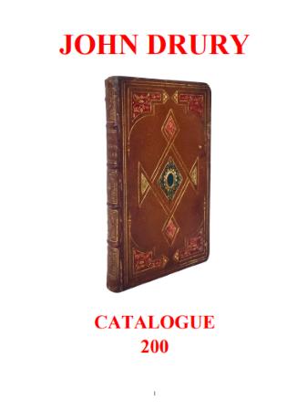 John Drury - Catalogue 200