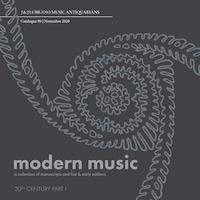 Lubrano Catalogue 90, Modern Music