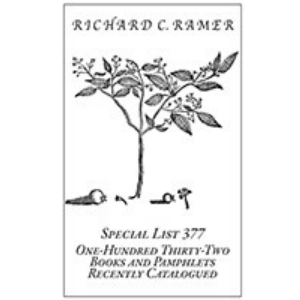 Richard Ramer Special List 377