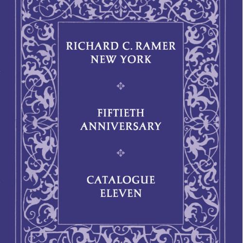 Richard C. Ramer Catalogue 11 (50th Anniversary)