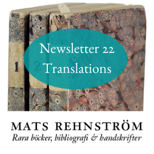 Rehnstrom - Newsletter 22