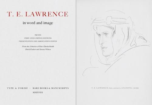 Type and Forme, T.E. Lawrence in Word and Image