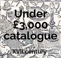Under £3000 - 17th Century