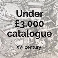 Under £3000 XVI century