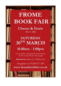 Frome Book Fair Poster
