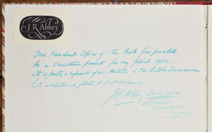 J.R. Abbey Inscription