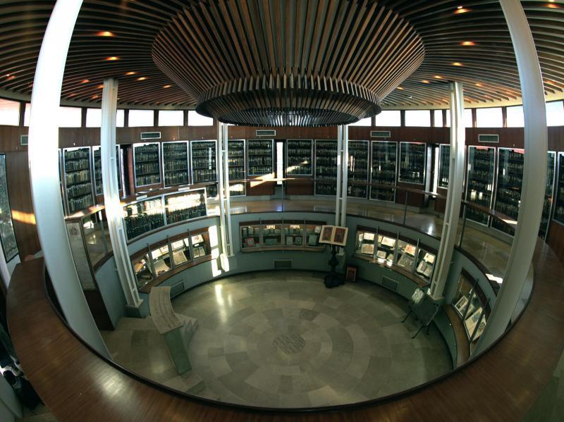 St. Lazaro Library Interior