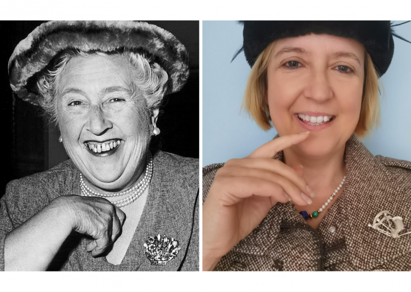 Silke Lohmann as Agatha Christie