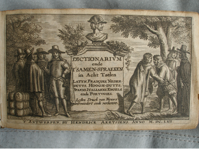 Nigel Stoughton - Barlement 1662 engraved title