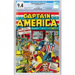 Captain America 1 Heritage Auctions