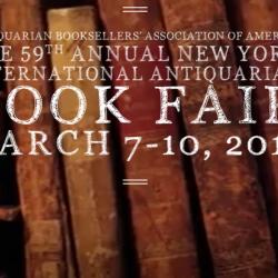 The 59th Annual New York International Antiquarian Book Fair