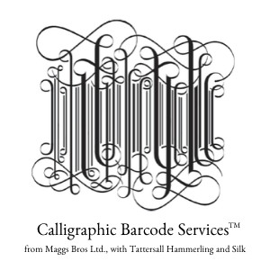 Calligraphic Bar code services