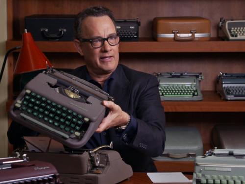 Tom Hanks California Typewriter