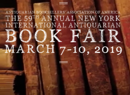 The 59th Annual New York International Antiquarian Book Fair