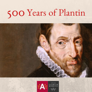 Christopher Plantin: 500 years