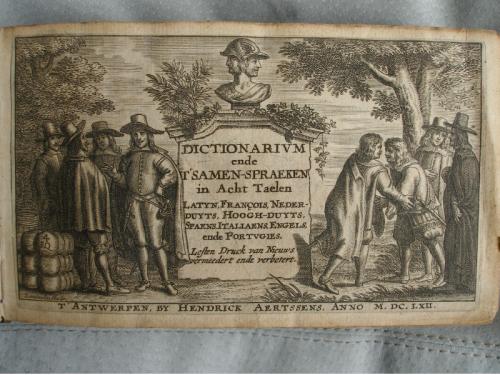 Nigel Stoughton - Barlement 1662 engraved title